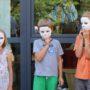 Die in Wechselburg zur RKW gefertigten Gipsmasken