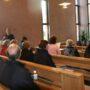 Einsingen vor dem Sonntagsgottesdienst