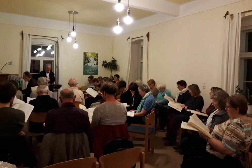 gemeinsame Chorprobe in Frauenstein am 25.04.18
