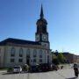 Frauensteiner Kirche auf dem Marktplatz
