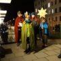 Voller Elan die Jujus in dem Geviert Hans-Oster-Str. am Freitag Abend