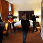 Besichtigung des Hotelbereiches mit Spa-Bereich, Cigar Lounge …  mit allem , was es gibt