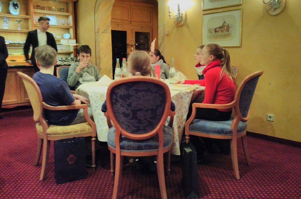 Fürstlich gegessen – das selbst gekochte Essen – im Bülow Palais