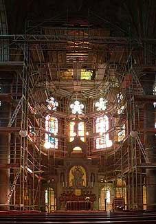 Restaurierung St. Martin