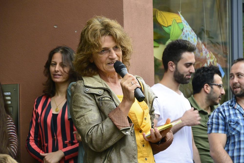 Frau Angelika Lang löste Dr. Hintzen in der Gefängnisseelsorge ab und bittet um Kontakt zur Gemeinde