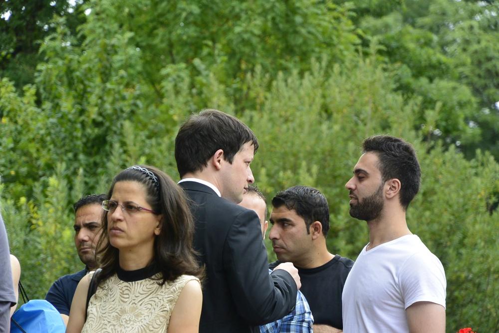 auch die syrischen und pakistanischen Freunde werden Martin sehr missen