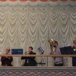 Die Bläser  aus Pillnitz und Pieschen mit festlichen und flotten Klängen
