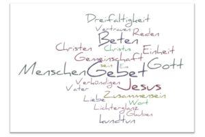 Wortwolke_Gebet