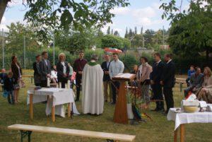 Firmung im Pfarrgarten St. Josef 2020