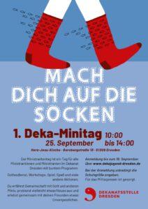 Socken (Ministranten) Plakat