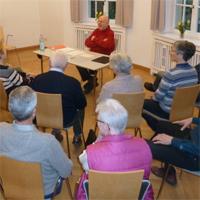 Glaubenskreis mit Norbert Strycek am Weißen Hirsch